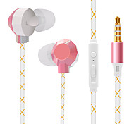 JTX High Quality Volume Control In Ear Earphone for Iphone and Android Phones