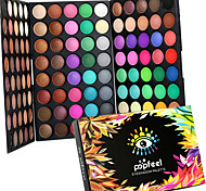 120 Colors Professional Eye Shadow Eyeshadow Palette Dry Matte&Glitter Smoky&Colorful Eyeshadow Powder Daily Party Makeup Cosmetic Palette Set
