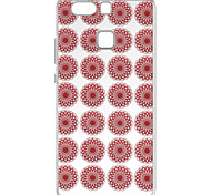 For Huawei P9 Pattern Case Back Cover Case Red Texture Pattern Soft TPU for  Huawei P9 / P9 Lite / P8 / P8 Lite