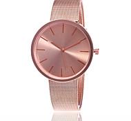 Жен. Нарядные часы Модные часы Японский Кварцевый сплав Группа С подвесками Повседневная Элегантные часы Серебристый металл Розовое золото