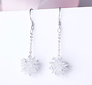 Earring 925 Sterling Silver Ziron Earrings Drop Earrings Jewelry Wedding Party Daily Casual