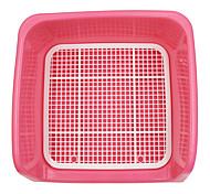 Cane Pulizia Kit per toletta Animali domestici Prodotti per toelettatura Ompermeabile Rosso Blu