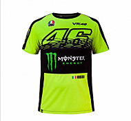 MotoGP T - shirt riding motorcycle  VR46 Knight Locy cotton short - sleeved racing suit T - shirt