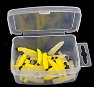 2 pçs Isco Suave / Amostras moles Cores Aleatórias 2 g Onça mm polegada,Plástico Pesca Geral