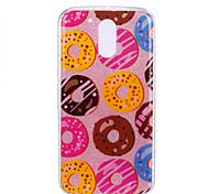 For Moto G4 Plus G4 Double IMD Case Back Cover Case Doughnut pattern Soft TPU