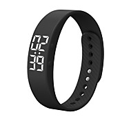 Fashion Bluetooth Smartwatch Realtime Showing Waterproof Smart Wristband LED Screen Fitness Tracker Sports Sleep Men Smart Watch