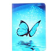 Для яблока ipad 4 3 2 крышка случая модель бабочки card stent pu материал плоский защитный кожух
