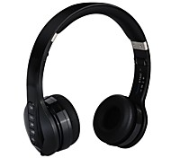 Foldable Wireless Headset Bluetooth Over-ear Headphones with Mic Strong Bass Noise Canceling for iPhone 7 7 Plus headphone for Kids and Adult