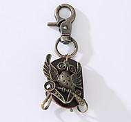 Кольцо с новым сплавом из воловьей кожи панк-панка украшено кольцом