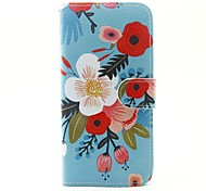 For Samsung Galaxy J5 (2016) J5 J1 (2016) Case Cover The Flowers Pattern PU Mobile Phone Holster