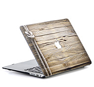 MacBook Кейс для Macbook Имитация дерева Поликарбонат материал