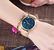 Ladies Fashion Starry Sky Quartz Watch Women Leather Casual Dress Women's Watch Reloje Mujer Montre Femme