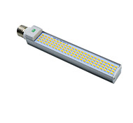 1 Pcs YWXLight® E26/E27 G24 5730SMD 96LED 20W 1850-1950LM Cool White Warm White LED Corn Light Horizontal Plug Light (AC 85-265V)