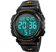 SKMEI 1258 Men's Woman Watch Waterproof Electronic Watch Fashion Multi - Functional Outdoor Sports Watch Sports Watch