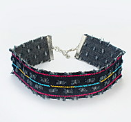 Women's Leather Bracelet Jewelry Fashion Bohemian Leather Alloy Irregular Jewelry For Party Special Occasion Gift 1pc