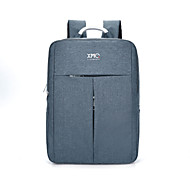 KM2019 15.6 inch Ultra-Light Portable Computer Backpack Korean Style Shoulder Bag Waterproof Pure Color Unisex