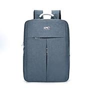 Km2019 15,6-Zoll-ultra-leichte tragbare Computer-Rucksack koreanischen Stil Schultertasche wasserdicht reine Farbe Unisex