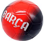 Эластичность Износоустойчивость-Soccers Футбольный мяч(Желтый Красный,ПВХ)
