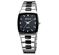 WeiQin Men's Fashion Watch Japanese Quartz Water Resistant / Water Proof Stainless Steel Band Silver Black