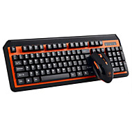Wireless 2.4GHz Keyboard and Mouse Set 2 Pieces a Kit