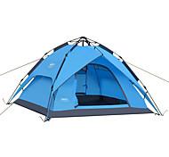 DesertFox® 3-4 человека Световой тент Двойная Палатка Однокомнатная Автоматический тент Водонепроницаемость Дожденепроницаемый для Походы