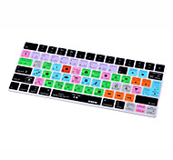 XSKN® Logic Pro X 10.3 Shortcut Silicone Keyboard Skin for Magic Keyboard 2015 Version (US/EU Layout)
