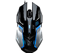 LED optische verdrahtete Maus mit Hintergrundbeleuchtung Metallkabel Maus Gaming Mäuse für Raton inalambrico deathadder souris pc gamer