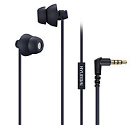 HYUNDAI Earphone for Mobile Phone 3.5mm In-Ear Wired With Microphone Volume Control