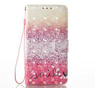 Samsung galaxy 3d эффект пустынный узор pu материал кошелек раздел телефон чехол для j510 j310 j3