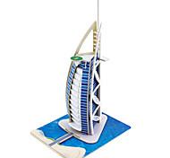 Jigsaw Puzzles 3D Puzzles Building Blocks DIY Toys Famous buildings 1 Wood Model & Building Toy