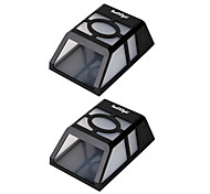 Youoklight 2pcs 0.5w 1.2v 0.12a наивысшая мощность 2 * светодиоды теплый белый / холодный белый свет солнечный фонарь забор лампа