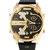 Hombre Reloj Deportivo Reloj Militar Reloj de Vestir Reloj de Moda Reloj Pulsera Reloj creativo único Reloj Casual Reloj de Pulsera Cuarzo