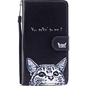 Для samsung galaxy j3 j5 чехол для крышки кошка шаблон окрашенная карта stent pu материал телефон чехол j5 (2016) j3 j5