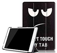 Cubierta del caso de la impresión para el zenpad del asus 3s 10 z500 z500m 9.7 tableta con la película protectora