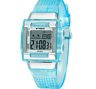 Men's Fashion Watch Digital Silicone Band Black White Blue Green Pink