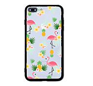 Для Чехлы панели С узором Задняя крышка Кейс для Фламинго Твердый Акрил для AppleiPhone 7 Plus iPhone 7 iPhone 6s Plus iPhone 6 Plus