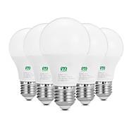 7W E26/E27 LED Kugelbirnen 14 SMD 2835 600-700 lm Warmes Weiß Weiß Dekorativ AC100-240 V 5 Stück