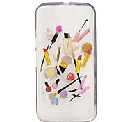 Для IMD Прозрачный С узором Кейс для Задняя крышка Кейс для Соблазнительная девушка Мягкий TPU для Motorola Moto G4 Play Мото G4 Plus