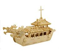 Jigsaw Puzzles 3D Puzzles Building Blocks DIY Toys Ship 1 Wood Model & Building Toy