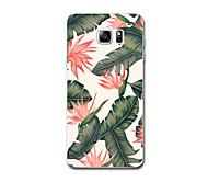 Für Hüllen Cover Ultra dünn Muster Rückseitenabdeckung Hülle Blume Weich TPU für Samsung Note 5 Note 4 Note 3