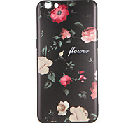 For OPPO R9s  R9s Plus Case Cover Pattern Back Cover Case Flower Soft TPU R9 R9 Plus