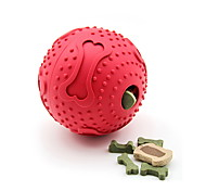 Cat Toy Dog Toy Pet Toys Ball Food Dispenser Bone Rubber
