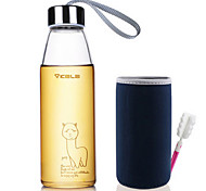Cartoon Stainless Steel Glass Tumbler