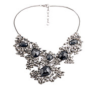 Women's Strands Necklaces Geometric Chrome Unique Design Personalized Black Jewelry For Housewarming Congratulations Casual 1pc