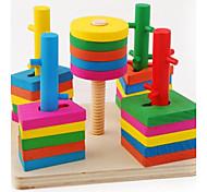 Costruzioni per il regalo Costruzioni Hobby e passatempo Circolare Quadrata Cilindrico TriangoloDa 2 a 4 anni Da 5 a 7 anni Da 8 a 13