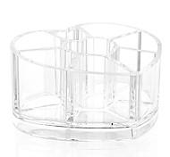 Акриловые прозрачные любящее сердце косметика макияж подставка для хранения кисть горшок организатор для помады лак для ногтей