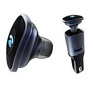 Bluetooth 4.0 гарнитура с автомобильным зарядным устройством
