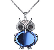 Owl Necklace Euramerican Long Chain Pendant Sweater Chain Necklace Women Office Lady Jewelry