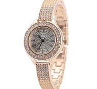 Women's Fashion Watch Wrist watch Casual Watch Quartz Alloy Band Charm Unique Creative Luxury Elegant Cool Crystal Diamond Watches