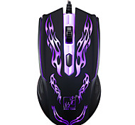 Gaming Maus professionelle 1200 dpi 1,2m verdrahtet lol Spiel usb bunte LED Hintergrundbeleuchtung Atem Lampen Computer Laptop Mode 4d